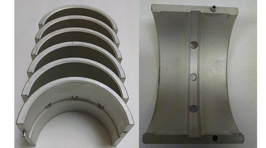 Aluminum bearings quad industries inc