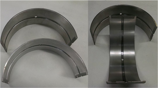 steel back aluminum lined bearings